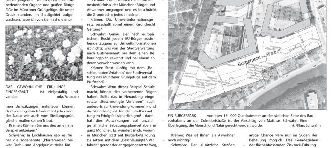 """Ein Bürgerpark für """"Aubing Mitte"""""""