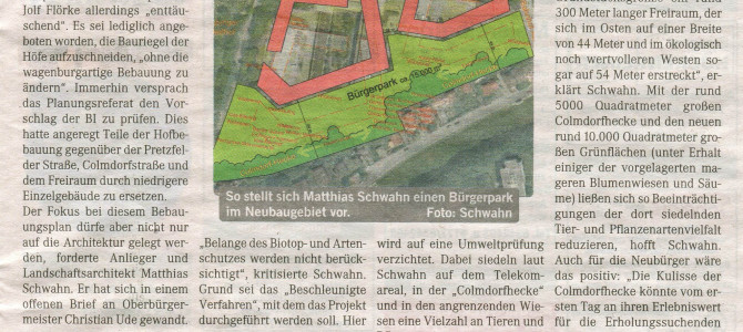 Bürgerpark für Aubing-Mitte