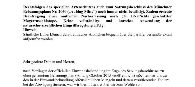 151129_Höhere-Naturschutzbehörde_B-Plan-2060_Colmdorfstrasse 3 – Einwände zum Satzungsbeschluss