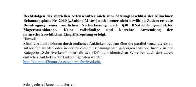 151129_Untere-Naturschutzbehörde_B-Plan-2060_Colmdorfstrasse 3 – Einwände zum Satzungsbeschluss